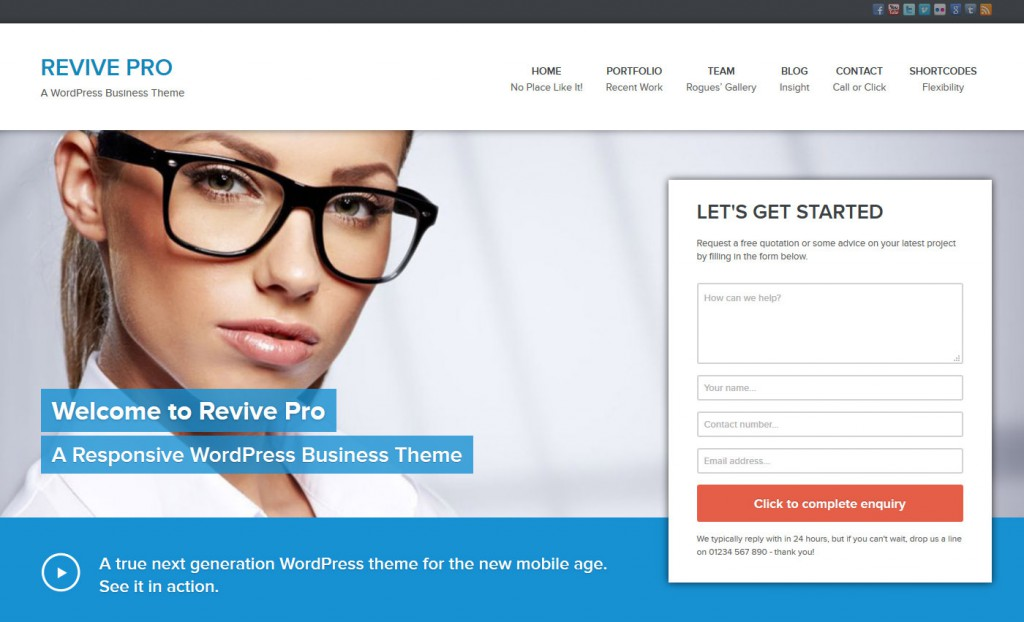 The 10 Best [WordPress Themes] for Small Local Businesses - The ...