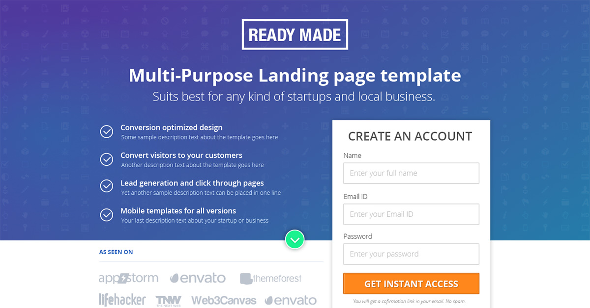 ready-made-unbounce-theme